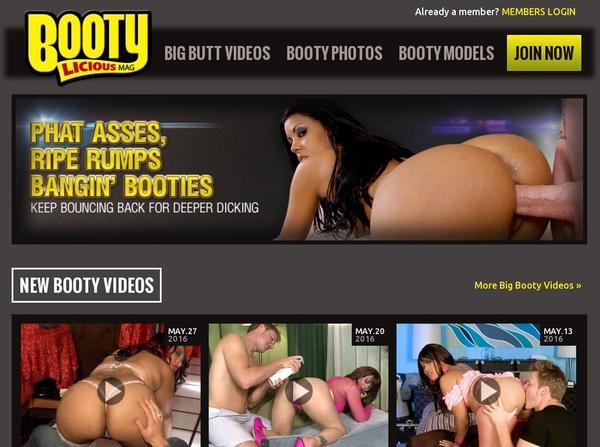 Bootyliciousmag.com Member Account