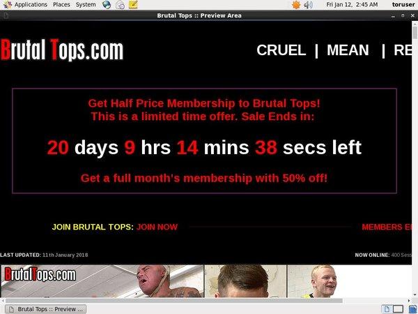 Brutaltops.com With IBAN / BIC