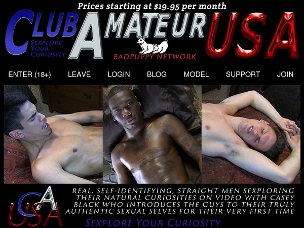 Club Amateur USA Account 2015