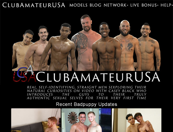 Club Amateur USA Pay Site