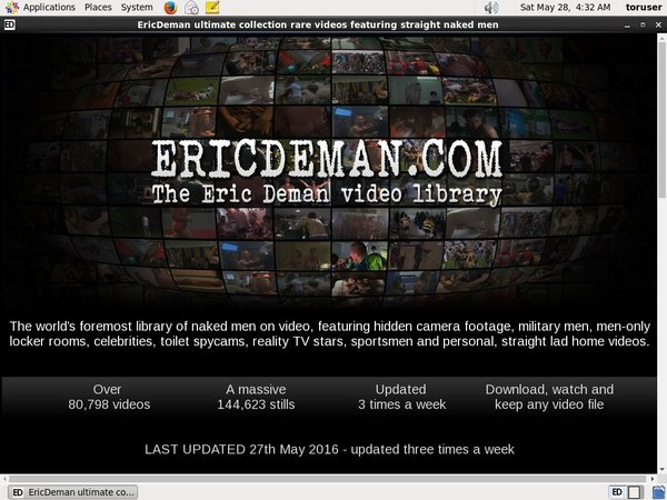 Eric Deman Mit ELV