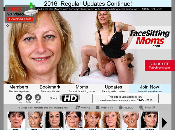 Face Sitting Moms Latest Passwords