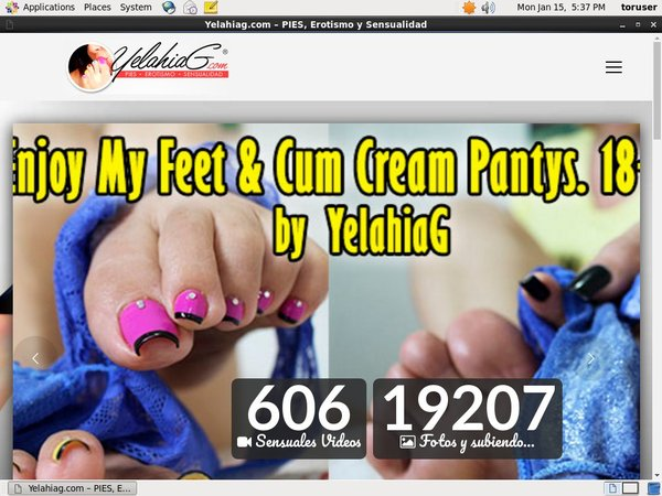 Free Yelahia G User