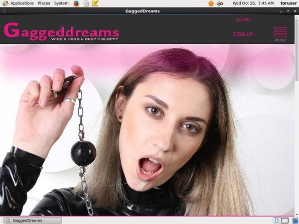 Gagged Dreams Password Bugmenot