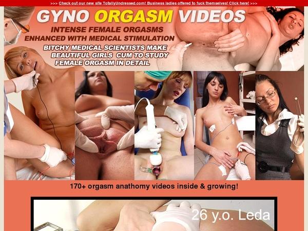 gyno orgasm