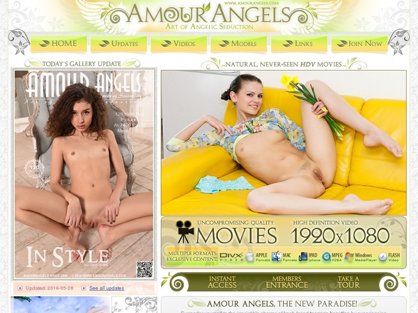 Register For Amour Angels