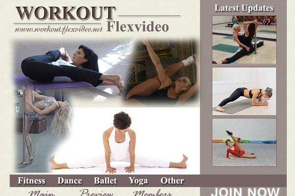 Workout Flex Video Pay Using