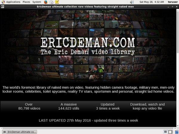 Ericdeman 사다