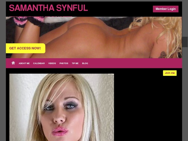 SamanthaSynful Join By EU Debit