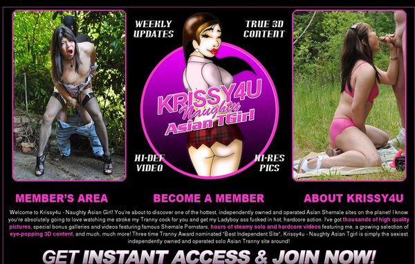 Free Krissy 4 U Account Login