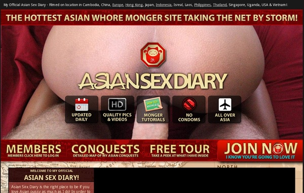 Asian Sex Diary Offer Paypal