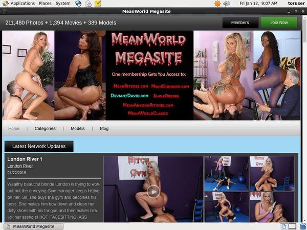 Mean World Price