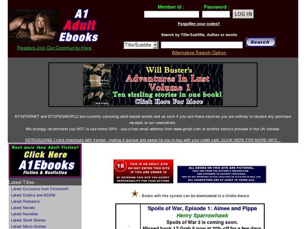 A1 Adult Ebooks Network