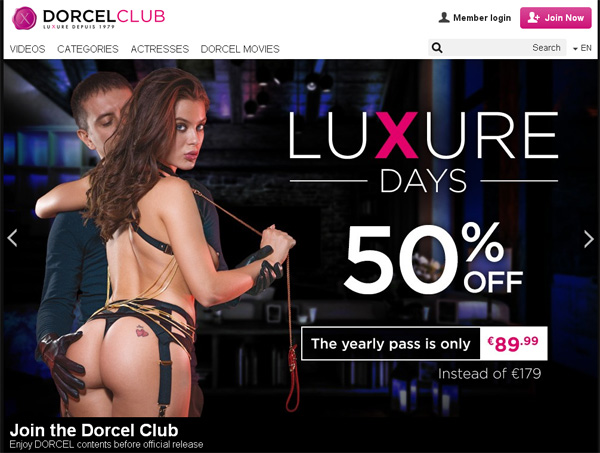 Dorcelclub Join Page