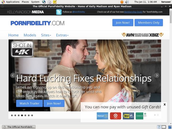 Pornfidelity User Name