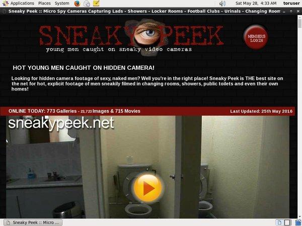 Xxx Sneakypeek.net