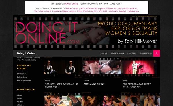 Doing It Online Full Discount
